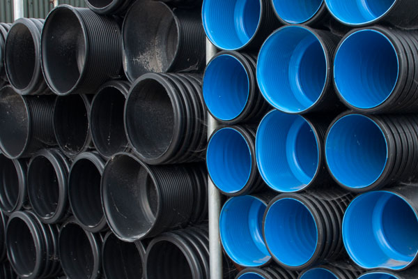 PVC Sewer & Water Mains Pipes